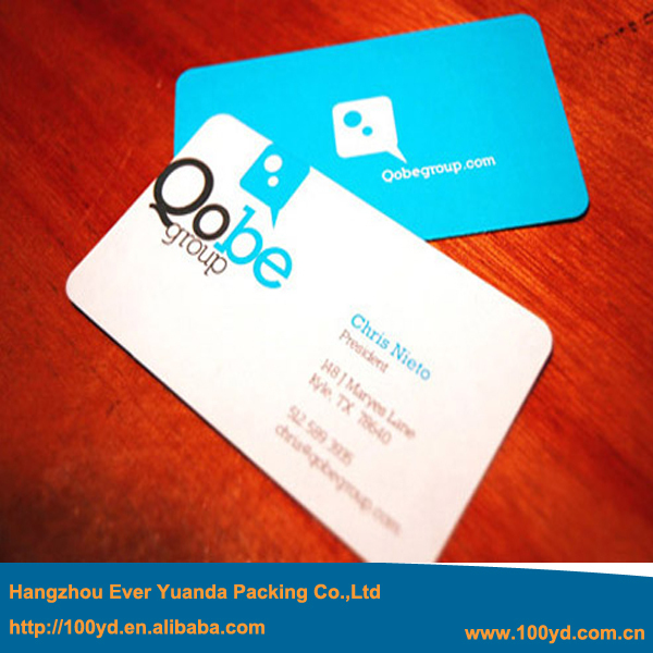 Free Shipping Fashion Designer Round Corner Business Cards Custom