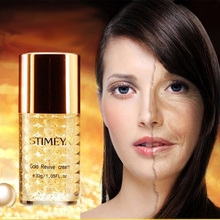 Free shipping Famous Brand 24K gold pearl face Skin Care Anti-aging whitening moisturizing Anti Wrinkle day face cream 30g цена и фото