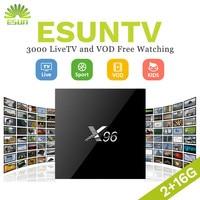 X96 With 1 Year IPTV French Belgium IPTV box Arabic IPTV box Linux System IPTV box Set Top Box