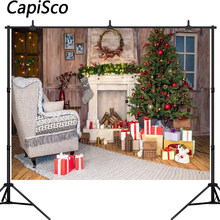 Popular Christmas Fireplace Backdrop-Buy Cheap Christmas