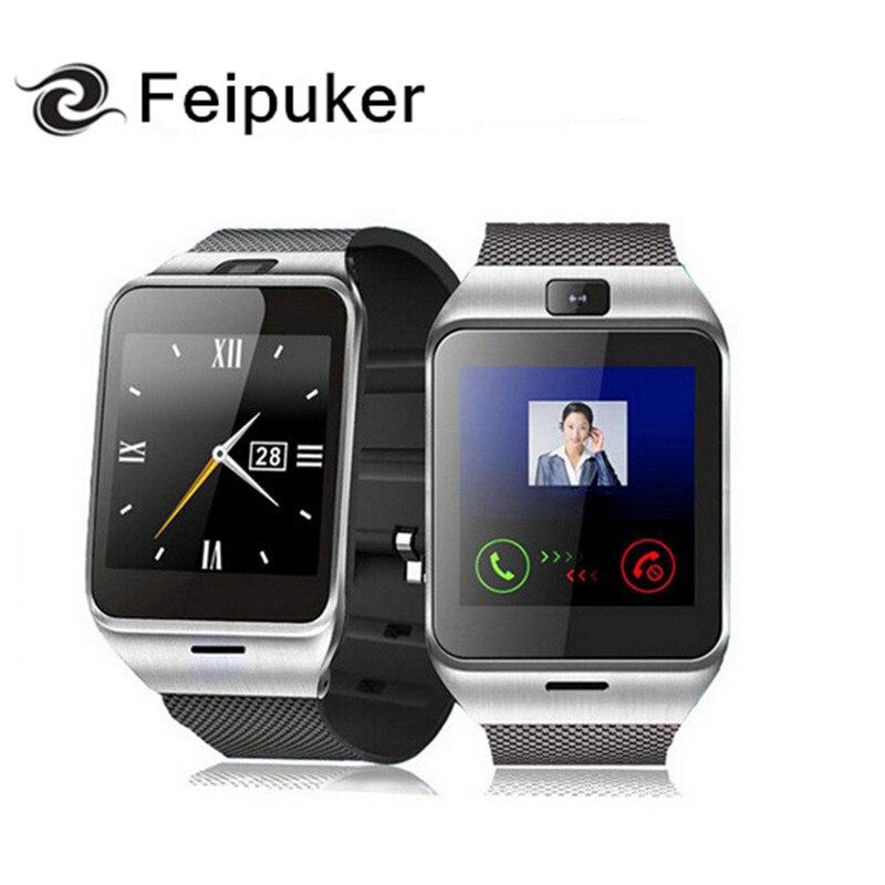 imágenes para 2016 Nuevos Aplus GV18 Reloj de Sincronización Notificador Soporte Tarjeta Sim GPS Bluetooth Conectividad Apple iphone Android Teléfono Smartwatch Reloj