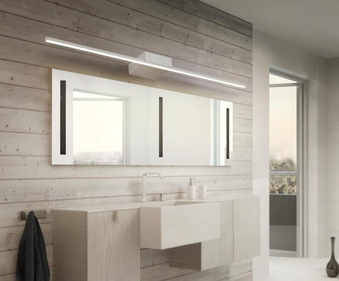 Spiegel Anti Condens : Eenvoudige moderne led spiegel wandlamp badkamer spiegelkast