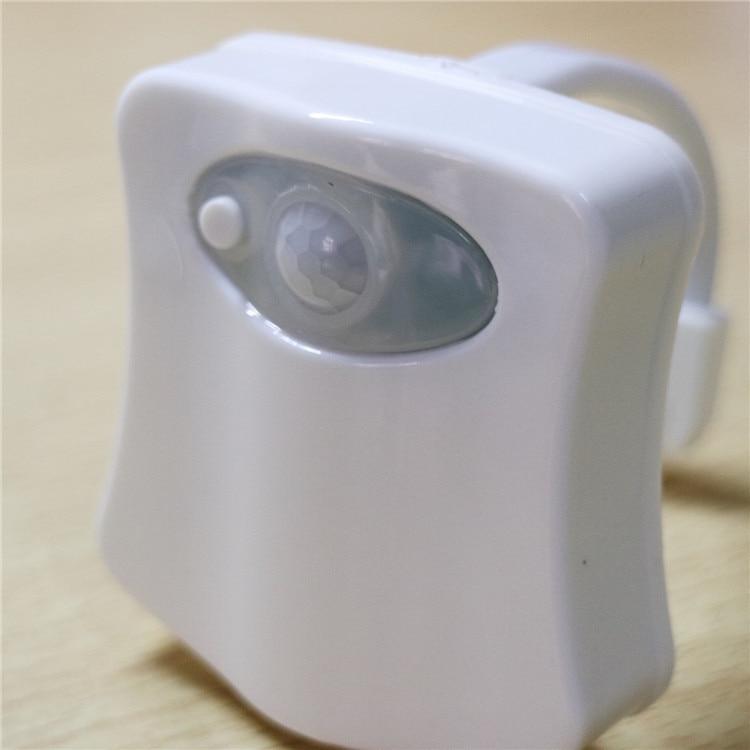 SuperNight Smart Toilet LED Night Light PIR Motion Sensor Light Control 8 Colors Backlight WC Toilet Bowl Seat Lamp for Children (16)