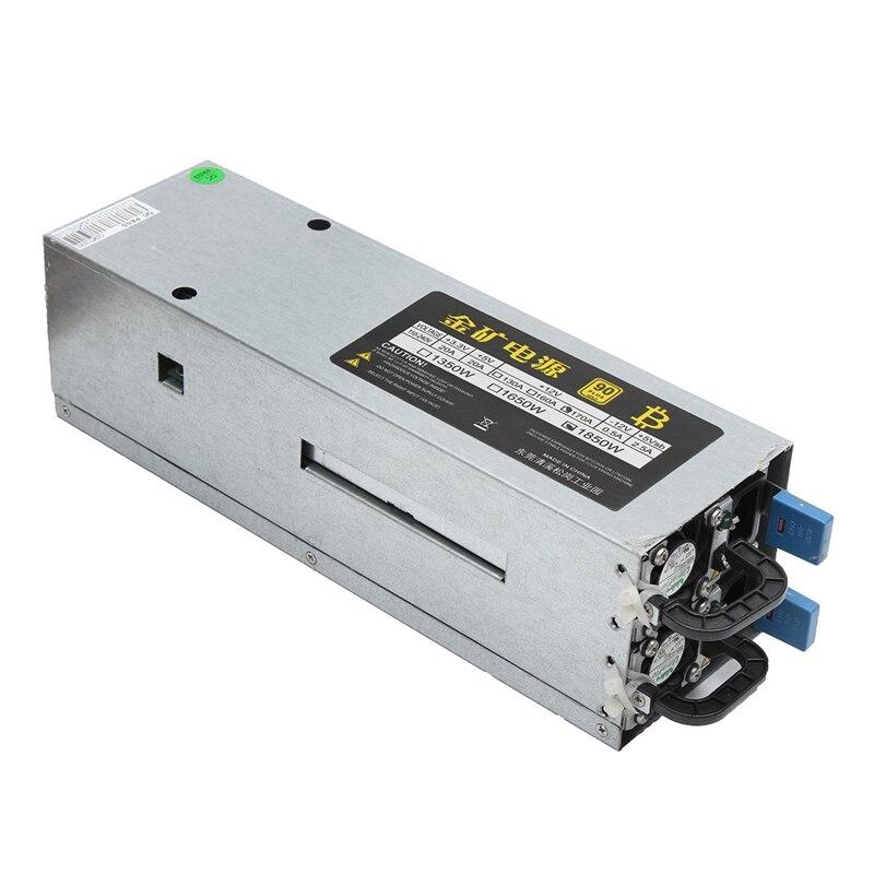 1800W 95 90Plus Gold Miner Mining Power Supply ATX For 6 GPU ETH BTC Ethereum New