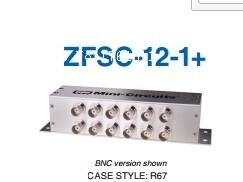 [BELLA] Mini-Circuits ZFSC-12-1-S+ 1-200MHz Twelve SMA Power Divider