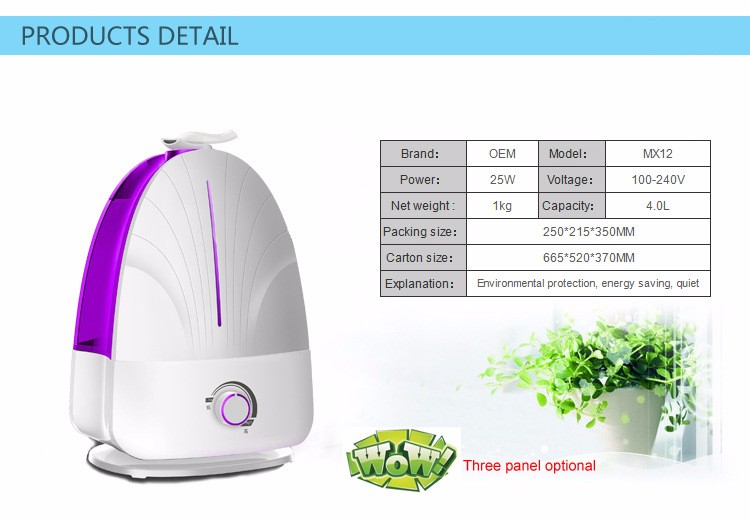 Design,100-240V,Ultrasonic humidifier,Carve Discount PBIBAY 2