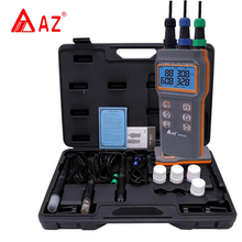 AZ86031 Water Quality meter Portable Dissolved Oxygen Meter Dissolved Oxygen Conductivity Salinity Temperature TDS PH Tester недорого