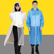 Transparent Raincoat Women Men Rainwear Male Rain Coat Waterproof Rain Cover Impermeable Motorcycle Raincoat Poncho Outdoor(China)