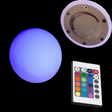 2019 D15cm D5.9inch LED Ball Luminouse Night Light 16 Colour Changing Led Sphere Ball for Home Decor Stock Clear Under Cost 1pc high quality led illuminated ball led sphere led orbs