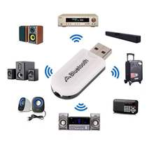 Mini USB 3.5mm Wireless Adapter Dongle Bluetooth 4.0 Audio Stereo Receiver for PC Laptop Car Speaker Smartphones(China)