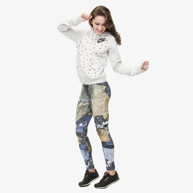 New Fashion magnetite Leggings Digital 3D Funny Printing Women Navy Blue Leggings For Fashion Adventure Time Dress
