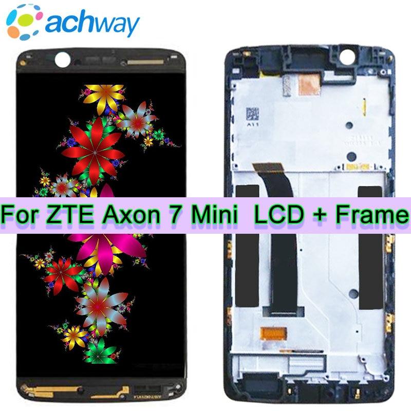 Original Tested Screen ZTE Axon 7 mini LCD Touch Screen Digitizer Assembly ZTE Axon 7 mini