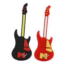 Einzelhandel Volle Kapazität Bass 1 GB 2 GB 4 GB 8G 16G 32G Gitarre U Disk PenDrive USB-Stick Memory Stick