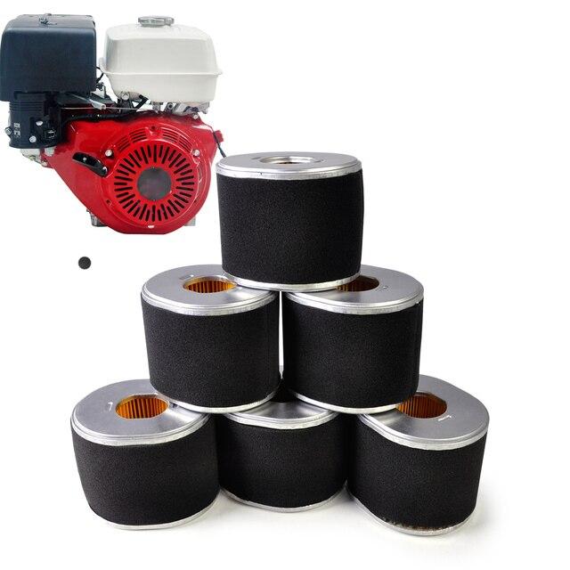 Nuevo 6 unids/lote filtro de aire limpiador 17210-ze3-010 17210-ze3-505 fit para honda gx340 gx390 11hp 13hp motor de repuesto
