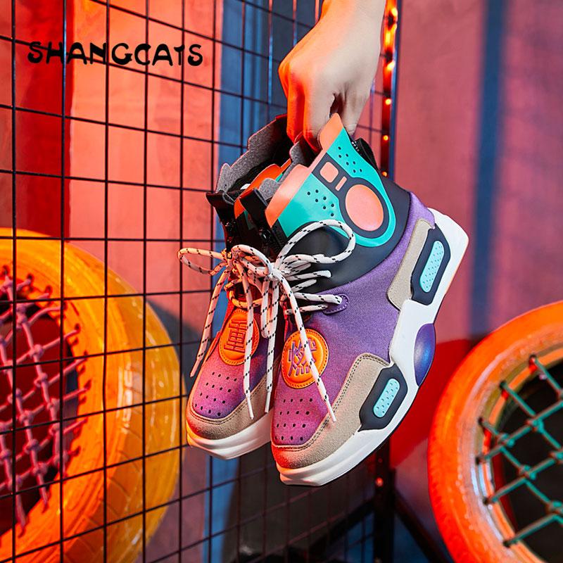 Tenis Black Piattaforma Progettista Donna Della white Donne 2019 Primavera Casual Femminile Femme Da Basket purple Scarpe Tennis Vulcanizzate Nuovo Feminino Delle XiPZuk