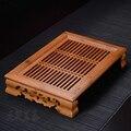 Elegant Rhyme People * Bamboo Gongfu Tea Table Serving tray 37*26cm Bamboo Tea Table chinese tea set bamboo water tea tray