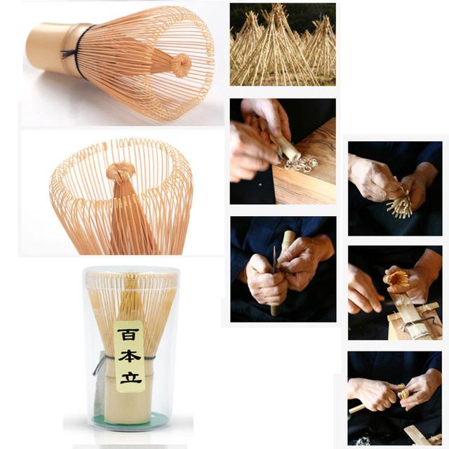 Professional Japanese Matcha bowl whisk scoop Bamboo Caddy Gift set Green Tea Powder teaset Japan Tea Ceremony Matcha Teaware