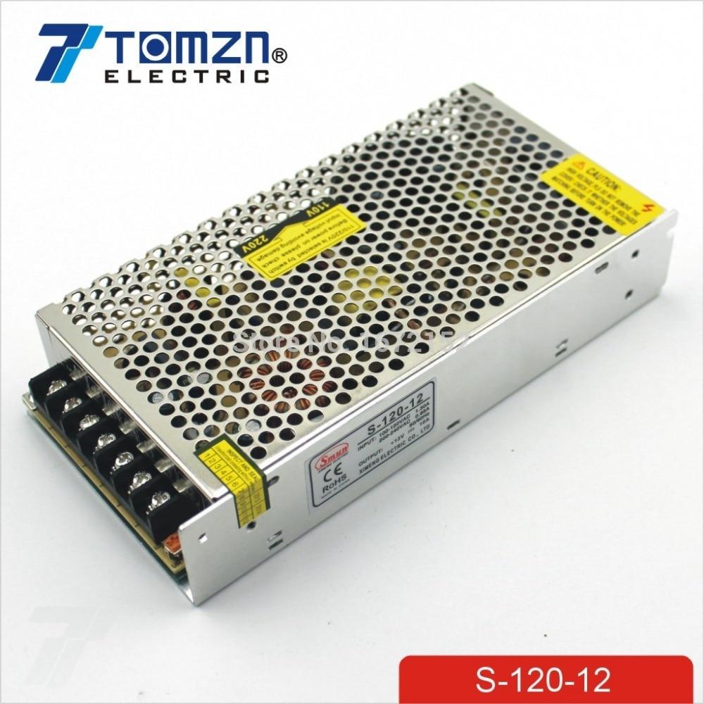 120W 12V 10A Single Output Switching power supply for LED Strip light минипечь gefest пгэ 120 пгэ 120