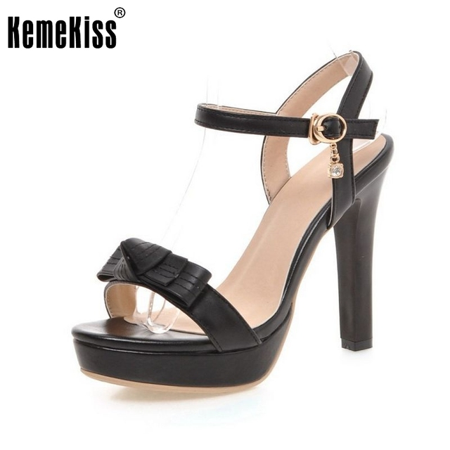 new women sandals ladies open toe thin high heel less platform sandals  concise fashion ankle strap