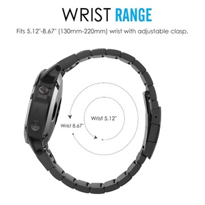 Image 4 - 20mm 22mm Metal Stainless Steel Strap for Samsung Watch Active Gear S3 S2 Classic bands for huami Amazfit GTR Bip huawei GT Band