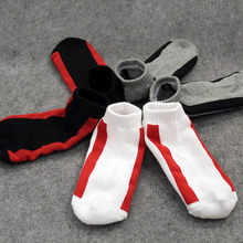 Male Brand Men Cotton Ankle Socks 3 Pairs Size 6-12 Sport Cycling Bowling Camping Hiking Sock Colors