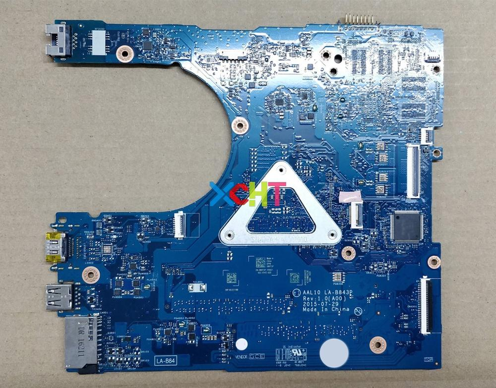 Image 2 - for Dell Inspiron 5458 5558 5758 N9T5P 0N9T5P CN 0N9T5P AAL10 LA B843P w 3215U CPU Laptop Motherboard Mainboard Tested-in Laptop Motherboard from Computer & Office