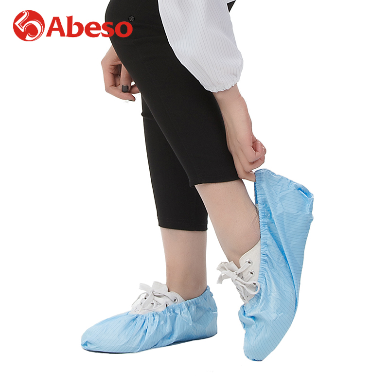 ABESO 1 pair shoes cover for various industry with waterproof dustproof anti-static in industrial application chemical A7277