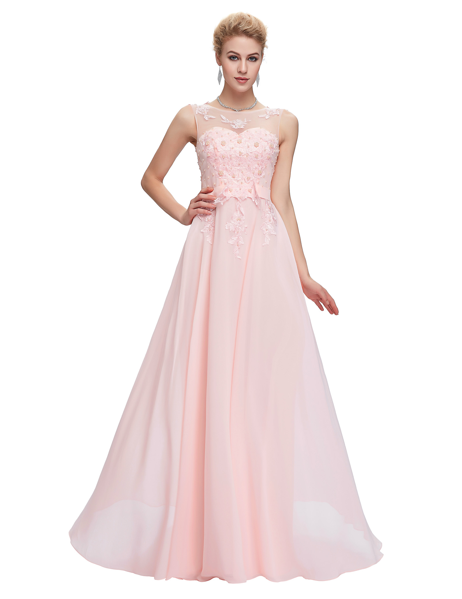 Grace karin light pink bridesmaid dresses 2017 blue red black aeproducttsubject ombrellifo Gallery