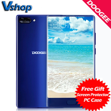 Original DOOGEE MIX 4G Teléfonos Móviles Android 7.0 4 GB RAM 64 GB ROM Octa Core Smartphone 720 P de Doble Cámara Trasera de 5.5 pulgadas Celular teléfono