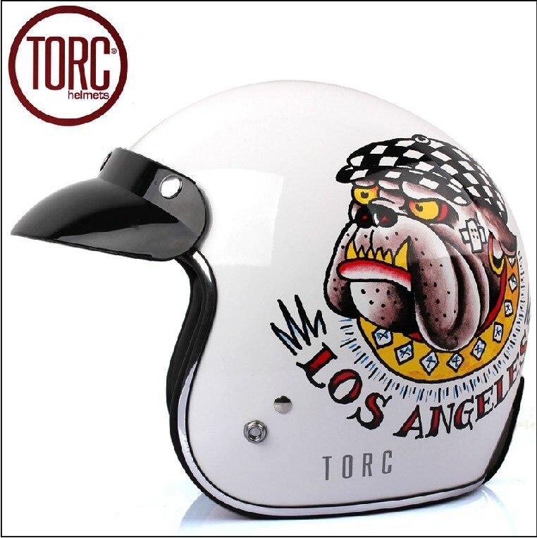 Здесь можно купить   Fashion brand TORC open face helmets,vintage motorcycle helmet, Sctoor 3/4 capacete,DOT approved America Bigdog helmet Автомобили и Мотоциклы