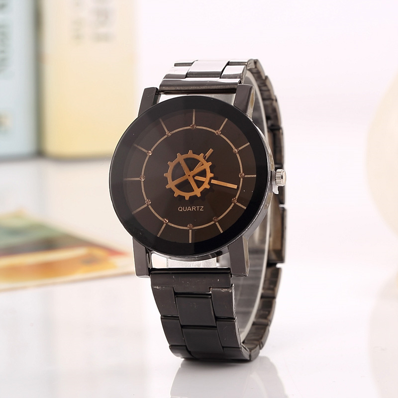 2018 Originality Simple No Word Mesh Belt Lovers Watch Women Dress Watches Men Brand Watch Montre Homme Marque De Luxe Watches