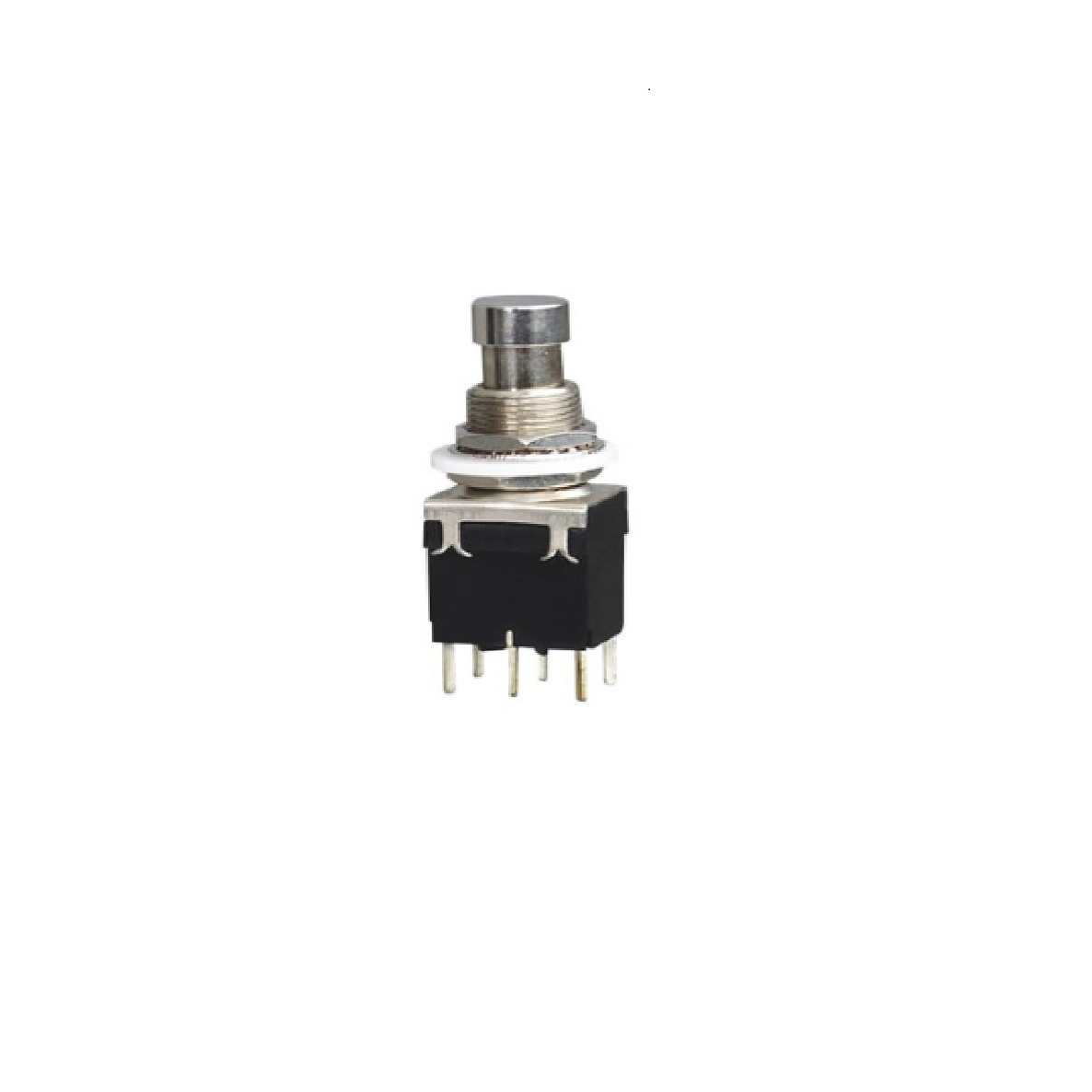 3pcs dpdt momentary on on pushbutton switches 6pin 12mm guitar effect push button [ 1186 x 1186 Pixel ]