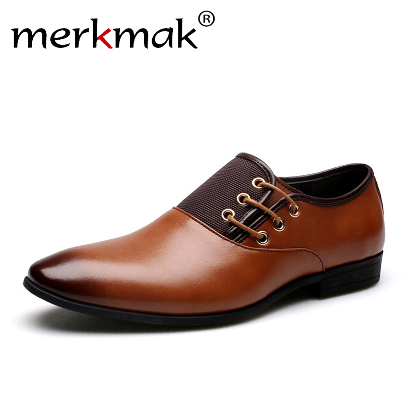 Men's Shoes 2019 New Leather Men Oxford Shoes Bussiness Wedding Shoes Hole Mesh Handmade Business Oxfords Mens Footwear Dress Shoes