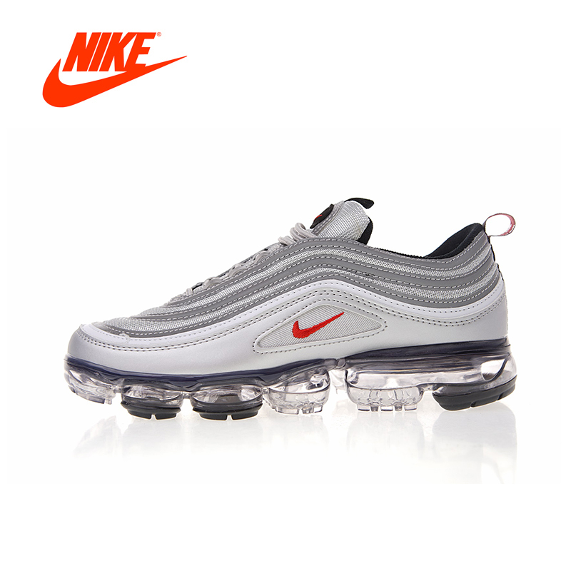 Original New Arrival Authentic Nike Air VaporMax 97 Men's Running Shoes Sport Outdoor Sneakers Good Quality AJ7291-002 цена