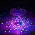 Новый Забавный Светодиодные водонепроницаемый Плавать Спа Свет Дискотека Праздник Крытый 5 цвета Освещения Водонепроницаемый Новизна Игрушки для детей