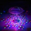 Nueva Luz LED Divertido impermeable Flotador Spa LLEVÓ Discoteca Luz de Vacaciones 5 colores de Iluminación de Interior Impermeable Juguetes de La Novedad para los niños