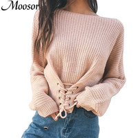 2017 New Fashion Autumn Casual Pullover Knitted Sweater Women Tops Hot Sale Shirt Women Sweaters And
