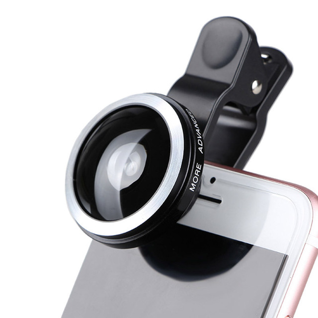 Universal 235 Degree Super Fisheye Lens Mobile Phone Camera Lenses For iPhone iPad Huawei Lens HD Wide Angle Clip-on Fish Eye
