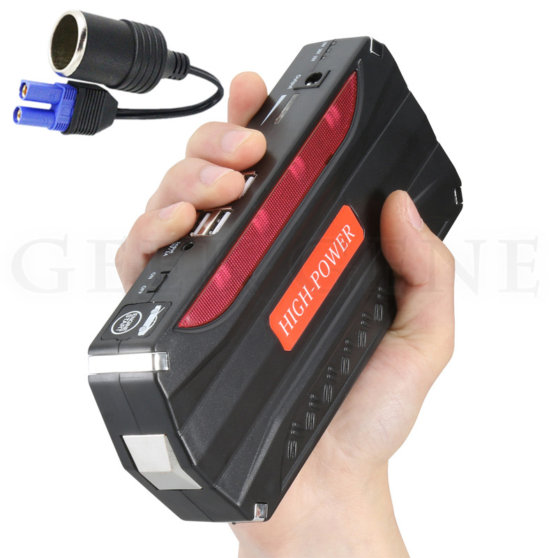 Mini Car Jump Starter 600A Portable Pack Power Bank 12V Charger for Car Battery Booster Diesel