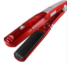 Best Buy Automatic Steam Hair Comb Straightening Hair Iron Straight Hair Brush Temperature Display Electric Fast Hair Straightener Tools