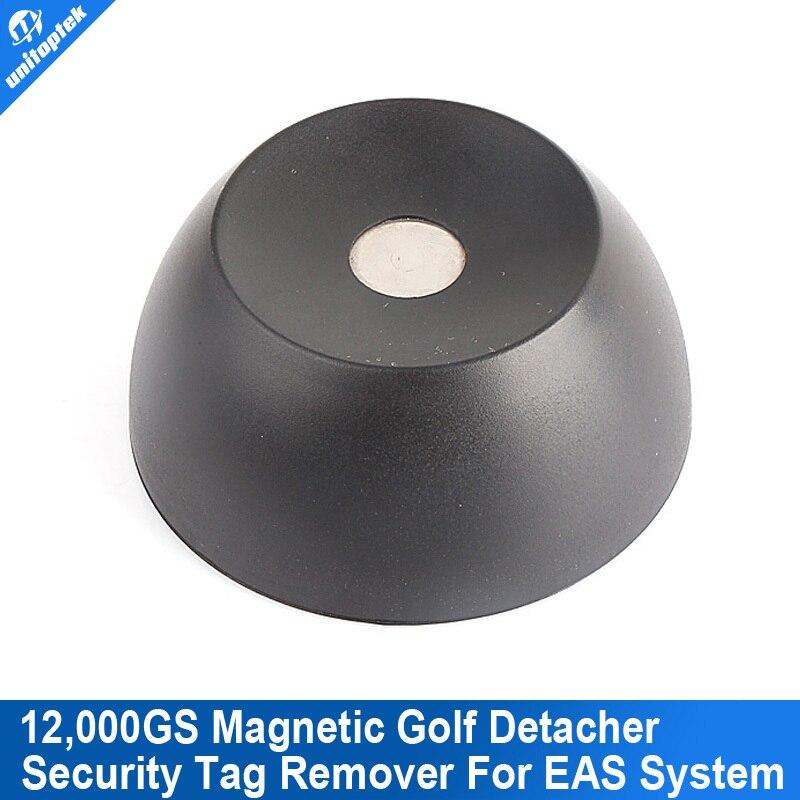 bilder für Latest Products Super Golf Detacher Security Tag Remover EAS Magnetic Intensity 12000gs Anti-theft plastic Material Color Black