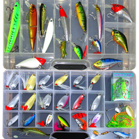 New Lure Kit Fishing Lures Minnow Sequins Soft Bait Isca Artificial Leurre Grenouille Freshwater Saltwater Lure