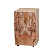 Afanti font b Music b font Rotten Wood Birch Wood Natural Cajon font b Drum b