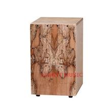 Afanti Music Rotten Wood / Birch Wood / Natural Cajon Drum (KHG-194)