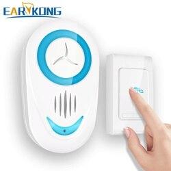 Приветствующий дверной звонок умный беспроводной дверной звонок Водонепроницаемый умный дверной звонок 36 видов тон музыка