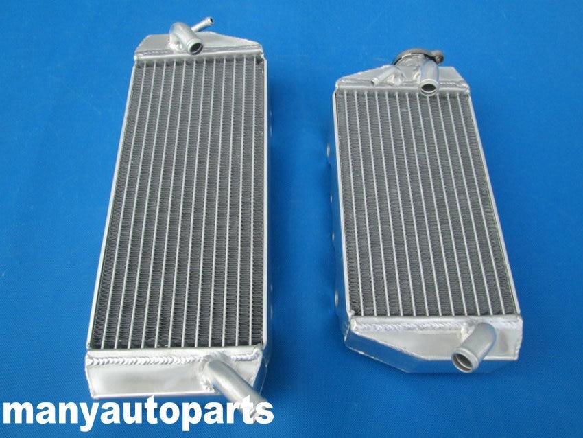 L/&R Aluminum//Alloy Radiator Kawasaki KX 450 F KX450F KXF450 2006 2007 2008 06 07