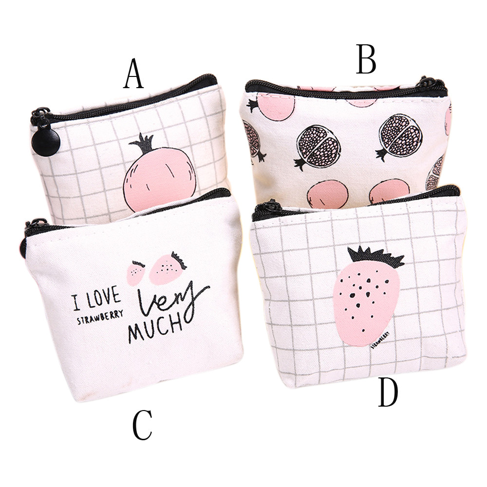INS Hot Fashion Grils Unisex Women Pink Cute Snacks Coin Purse Wallet Bag Change Pouch Key for photograph B# dropship