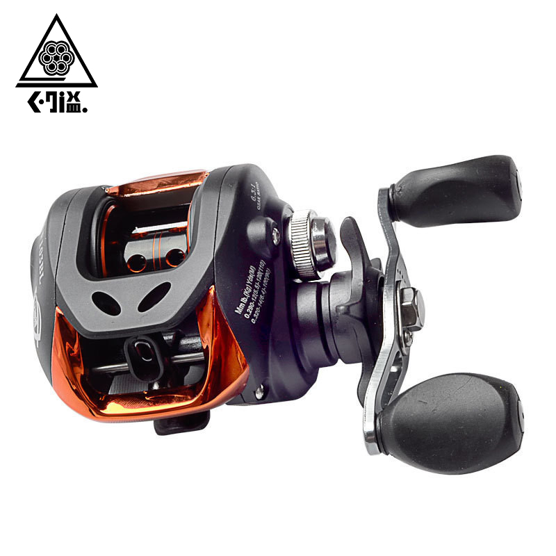 High Speed Baitcasting Fishing Reel Left/Right Hand 10+1BB 6.3:1 Speed Ratio Bait Casting Fishing Reel Fishing Tackle