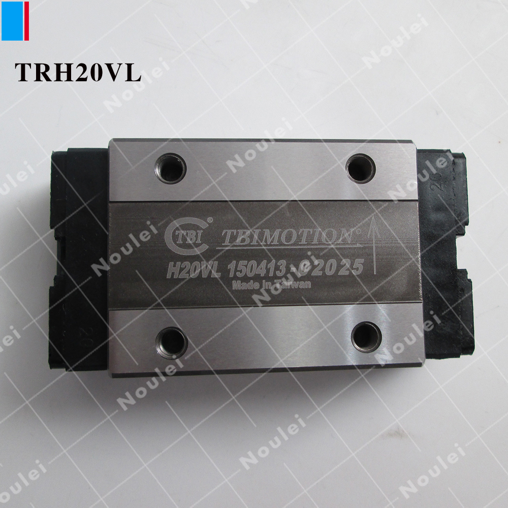 TBI Linear Guide Block/Carriage TRH20VL  /  HGH20CA linear transmission pillow block linear guide support carriage trh30b