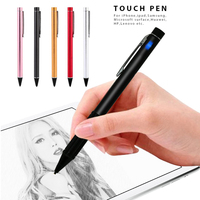 Cewaal Universal High Precision 1 8mm Rechargeable Touch Screen Pen Point Stylus Pen Aluminium Alloy Tablet